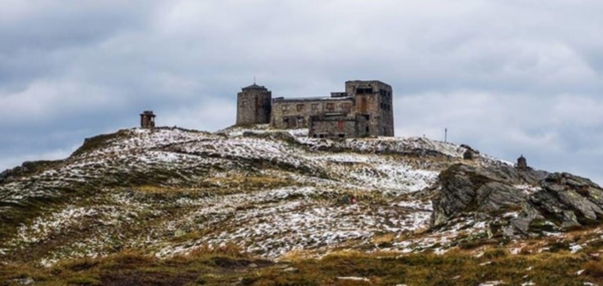 Зима близко: на Закарпатье выпал первый снег. Фотофакт