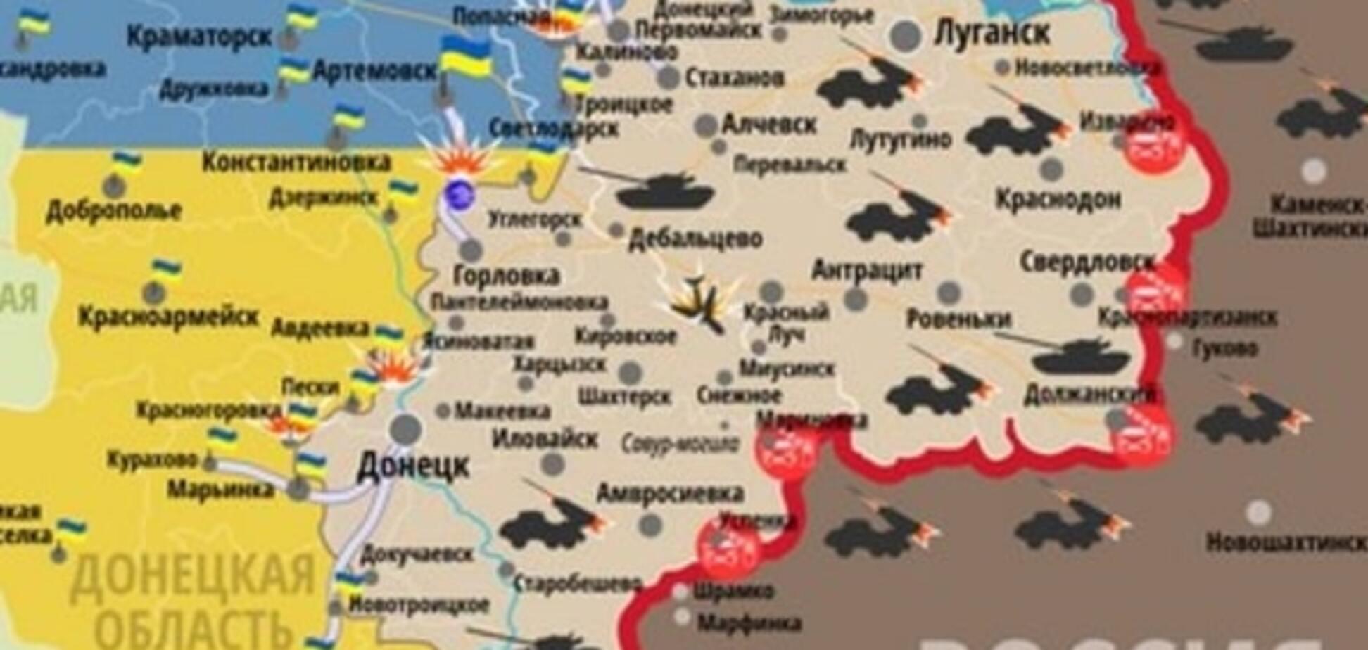 На Донбассе активизировались снайперы: актуальная карта АТО
