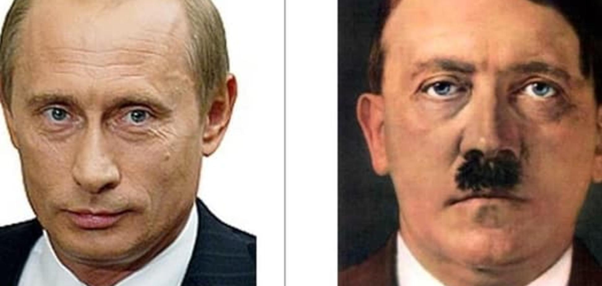 В сети сравнили рисунок собаки Гитлера и кошку Путина