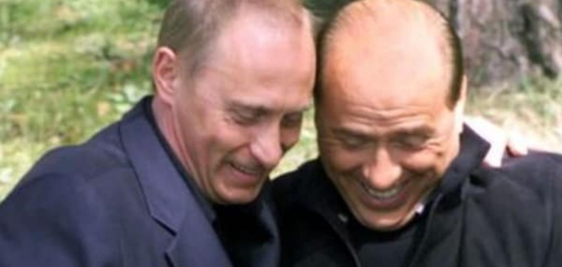 Берлускони признал оккупацию Крыма 'законной', а Путина – любимчиком женщин
