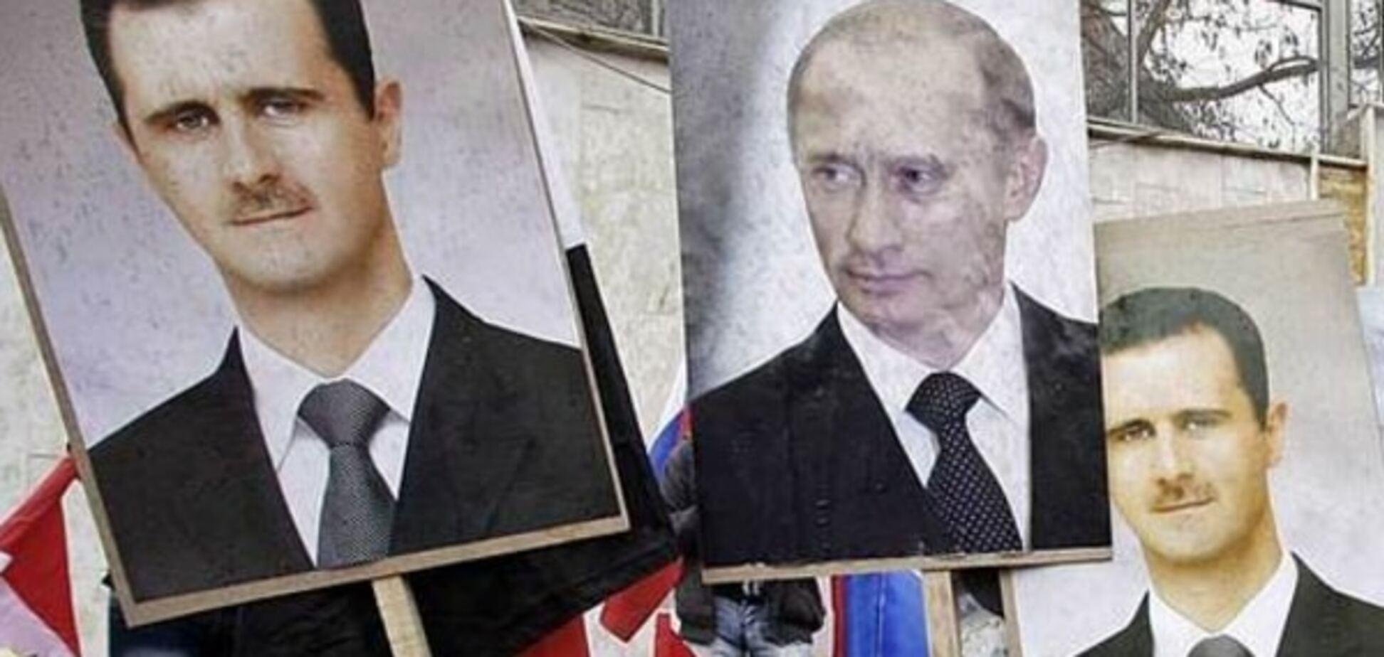Путину плевать на легитимность Асада - Яременко