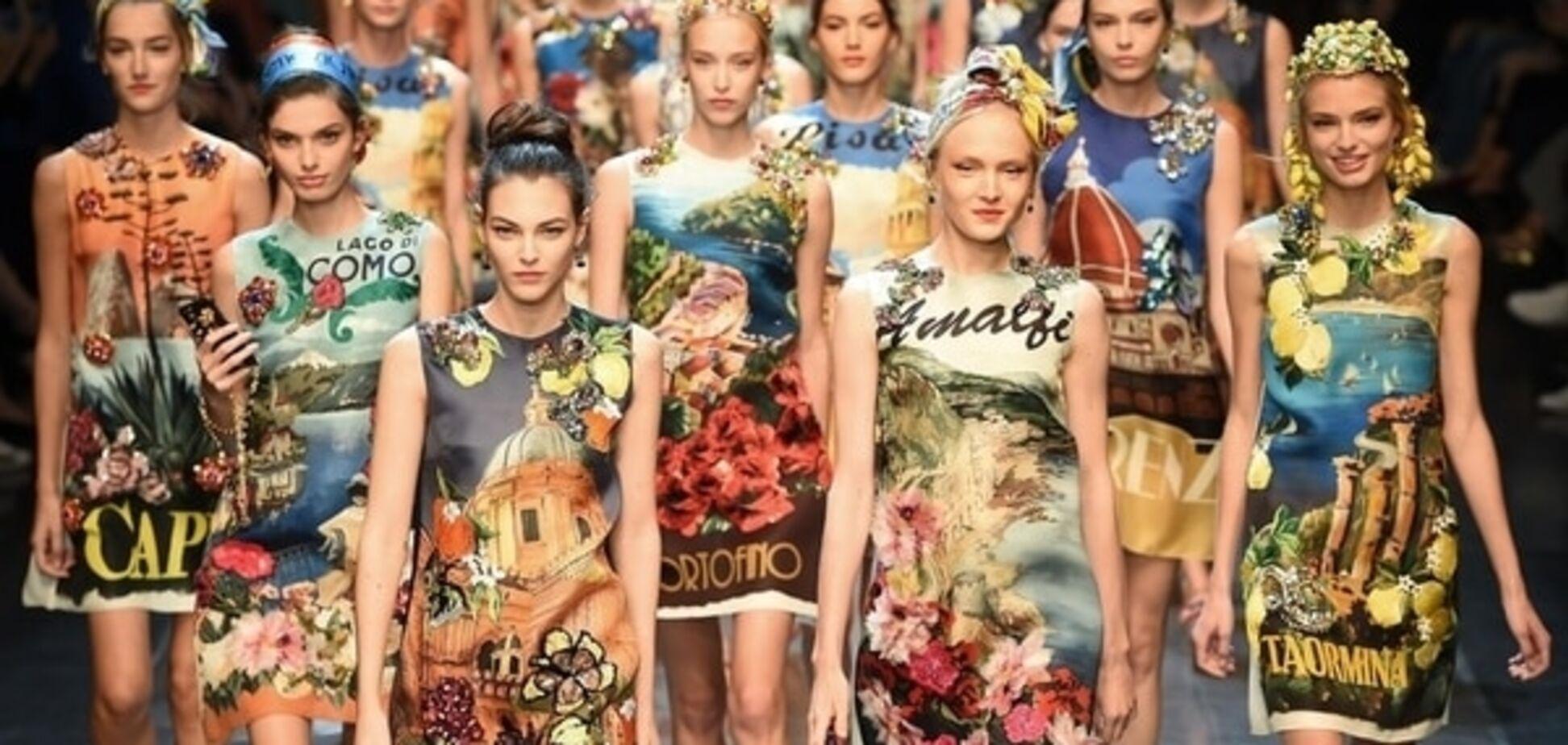'Это любовь': Dolce & Gabbana посвятили новую коллекцию Италии