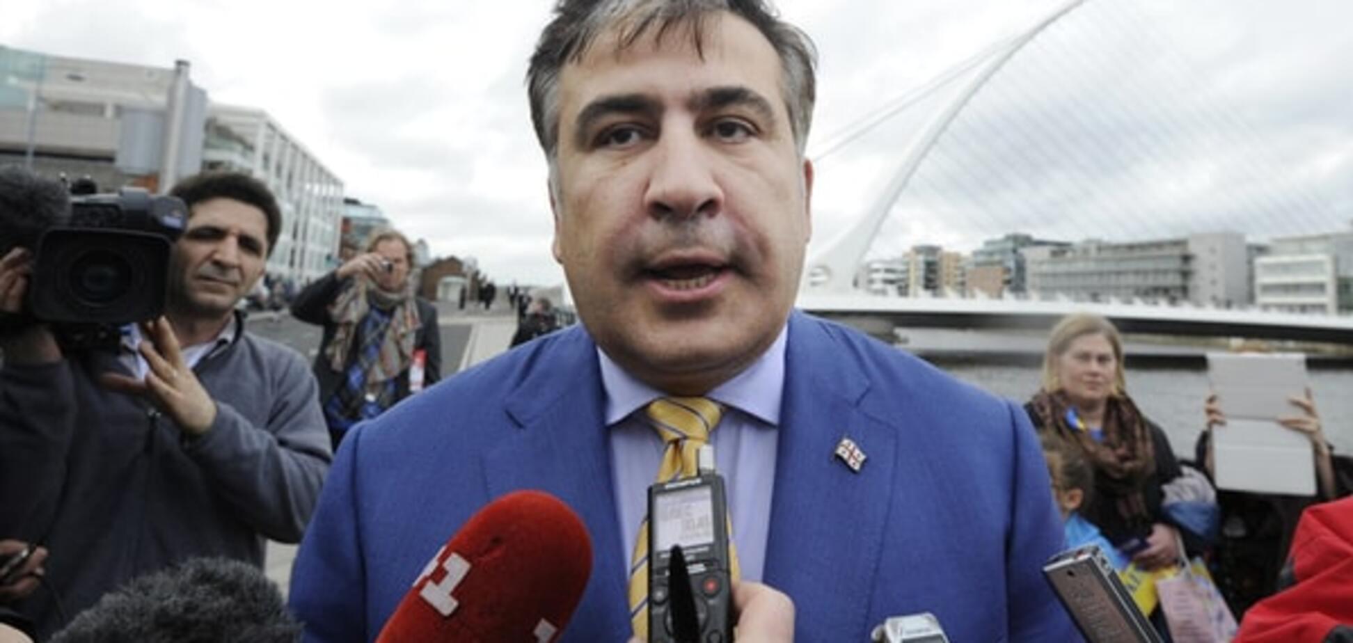 Саакашвілі звинуватив Яценюка у створенні нової хвилі корупції