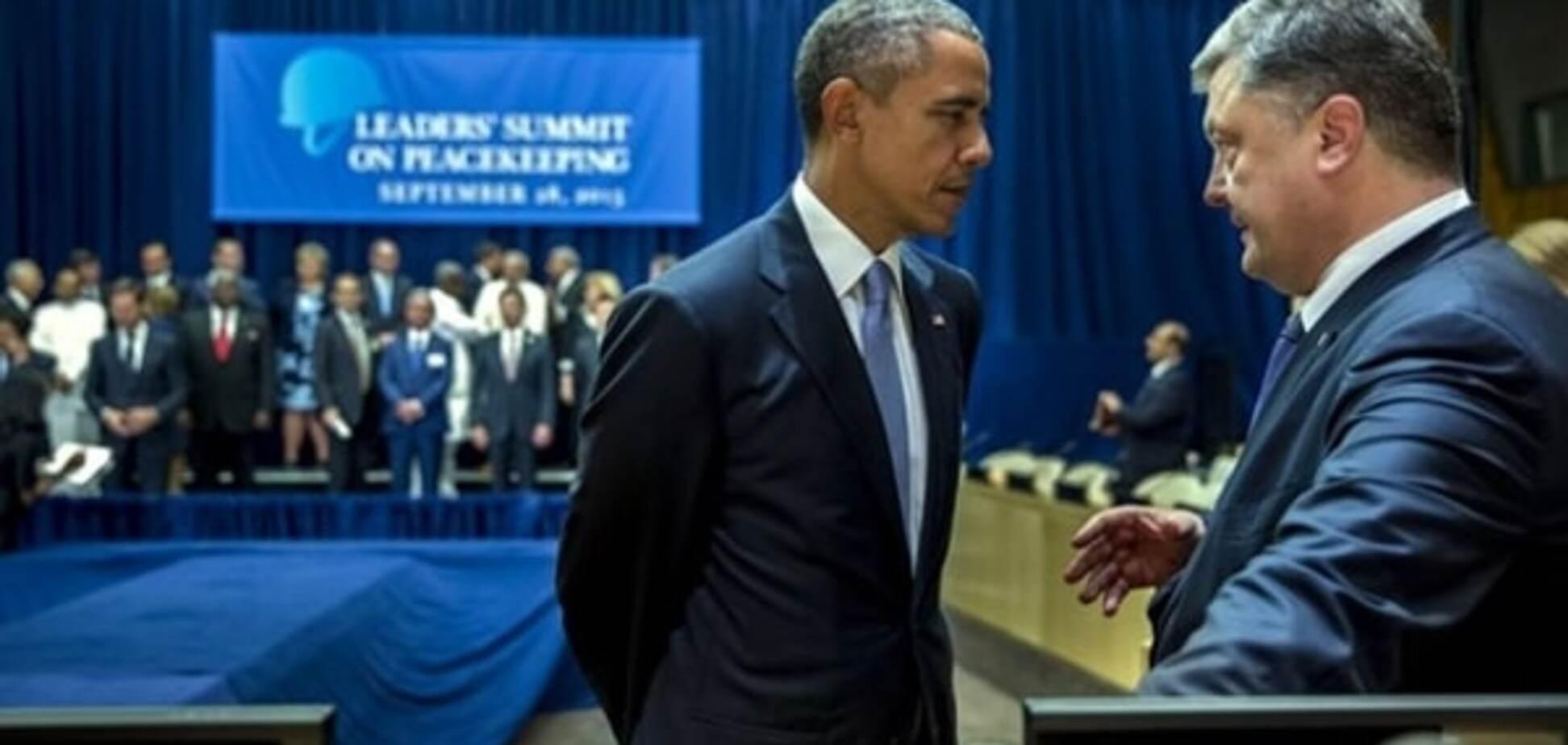 Гавриш: Обама сделал Порошенко намек, но тот его не понял