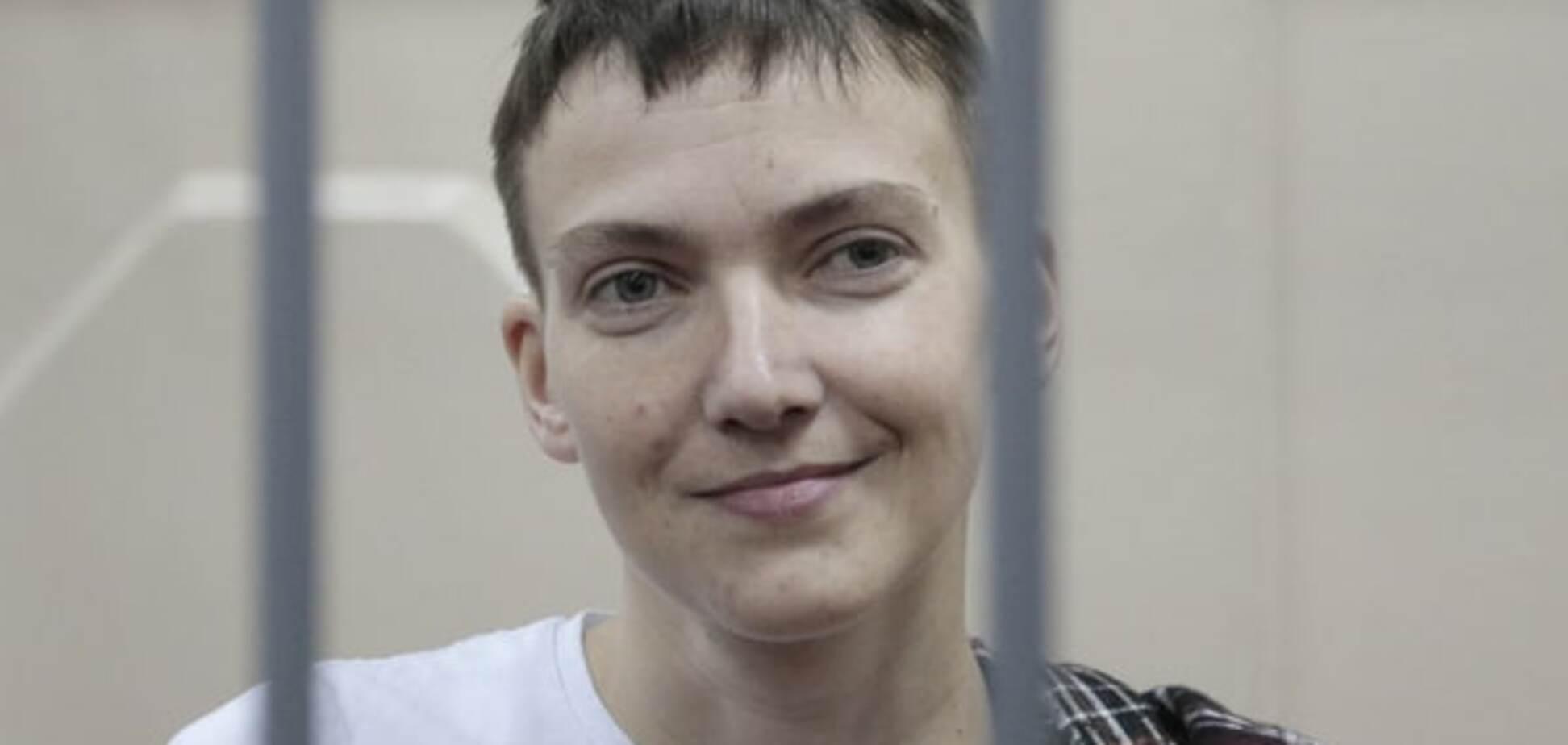 Когда россияне везли Савченко в суд,  на улице перекрыли движение