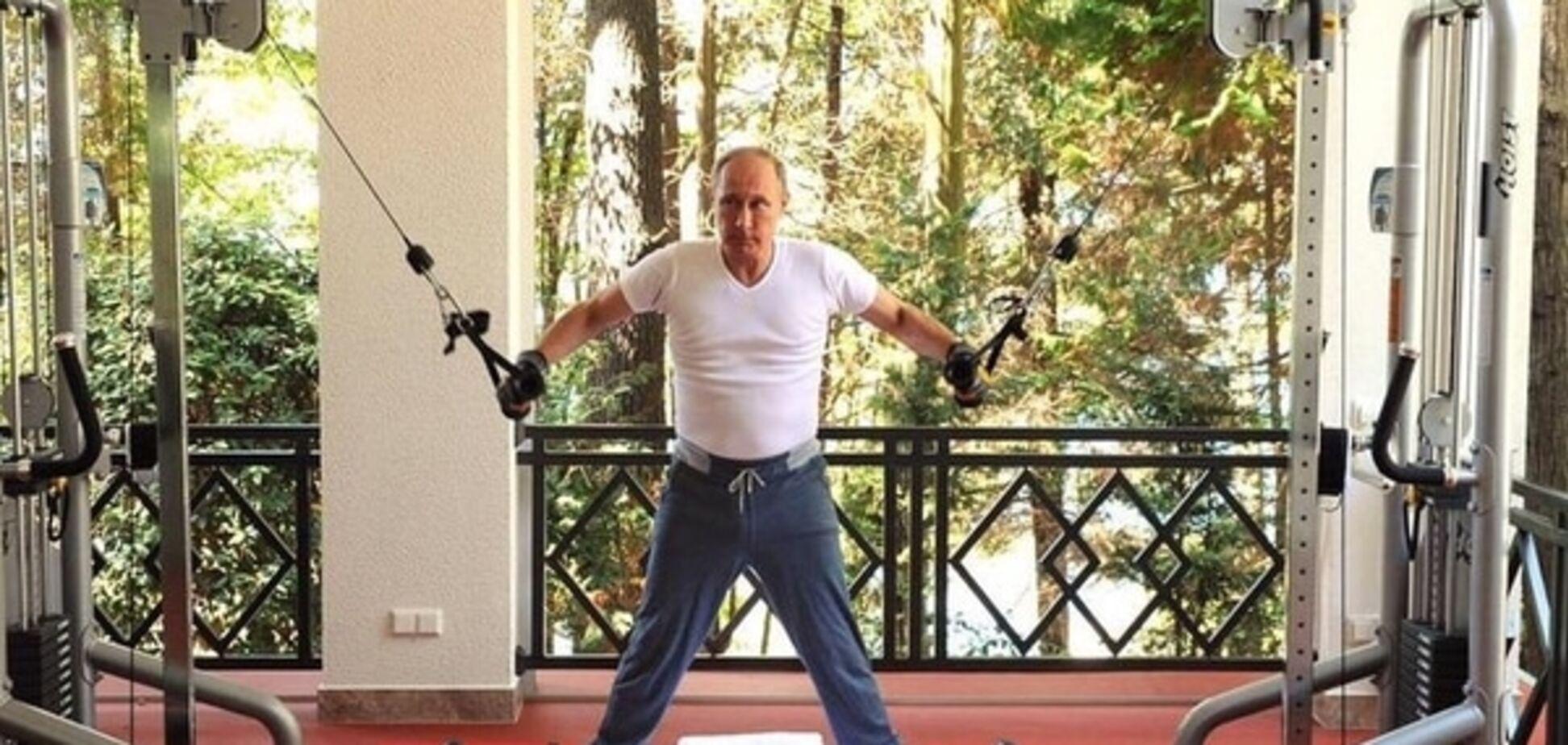 'Нісенітниця'. Американський журнал для культуристів висміяв тренування Путіна