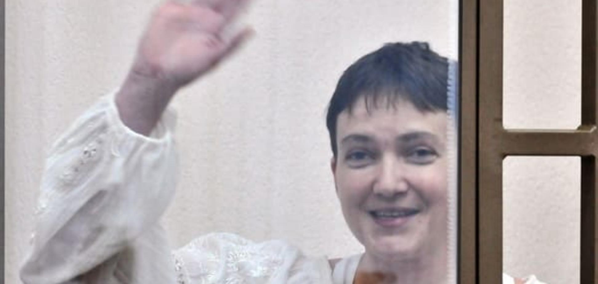 Как отвлечь российское правосудие: на суде над Савченко запретили кивать
