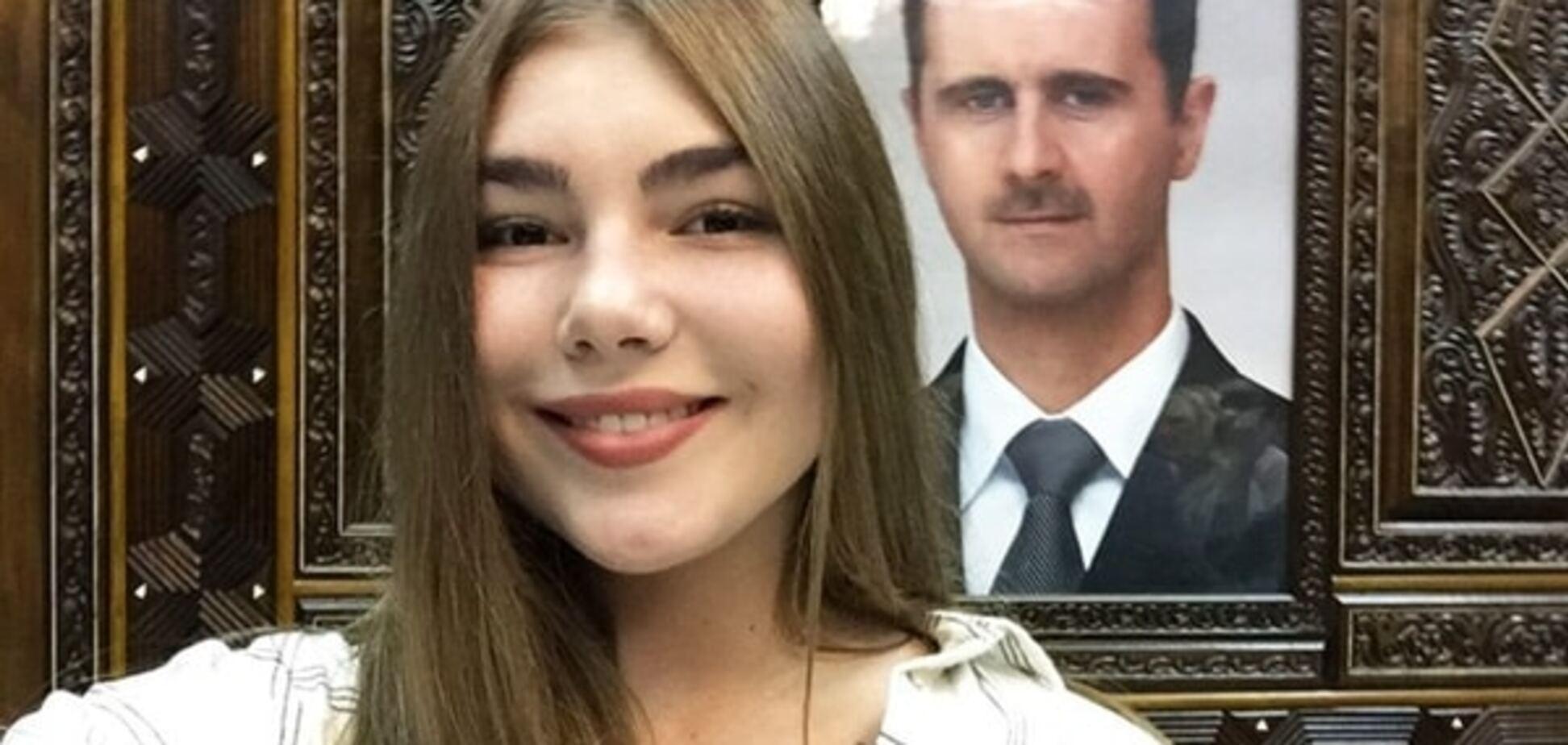 #ДамаскНаш: 16-летняя девушка-блогер порадовалась российским авиаударам в Сирии