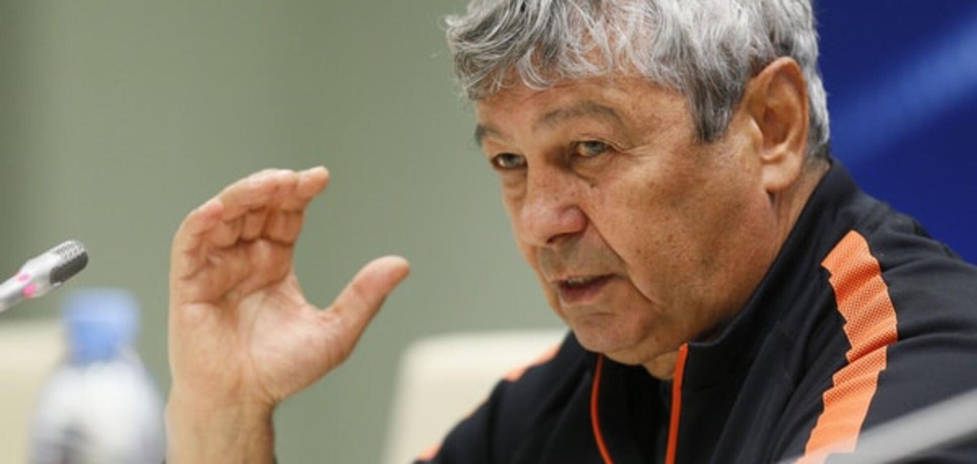 'Будемо грати за третє місце': Луческу визнав безпорадність 'Шахтаря'