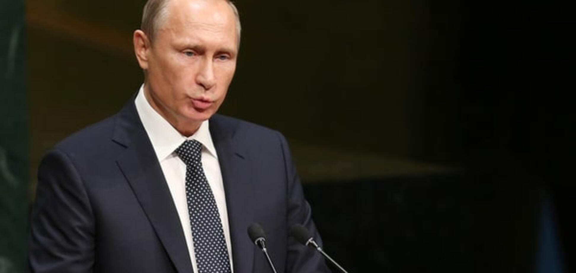 Мрамор сжался от ужаса! в cети посмеялись над 'выросшим' Путиным: фотофакт