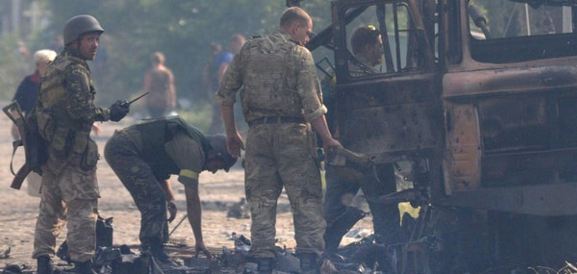Українців під Іловайськом поховали в секретних братських могилах - санітар