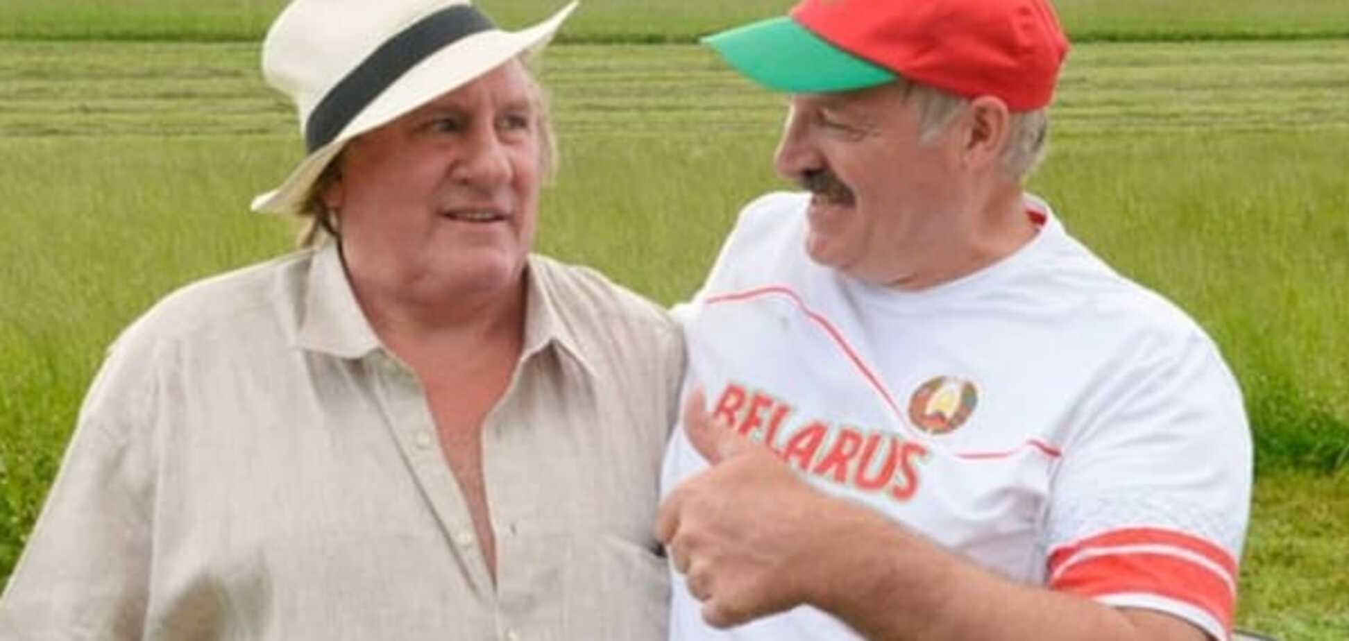 Депардьє втече з Росії до Лукашенка, тому що він 'хороша людина'