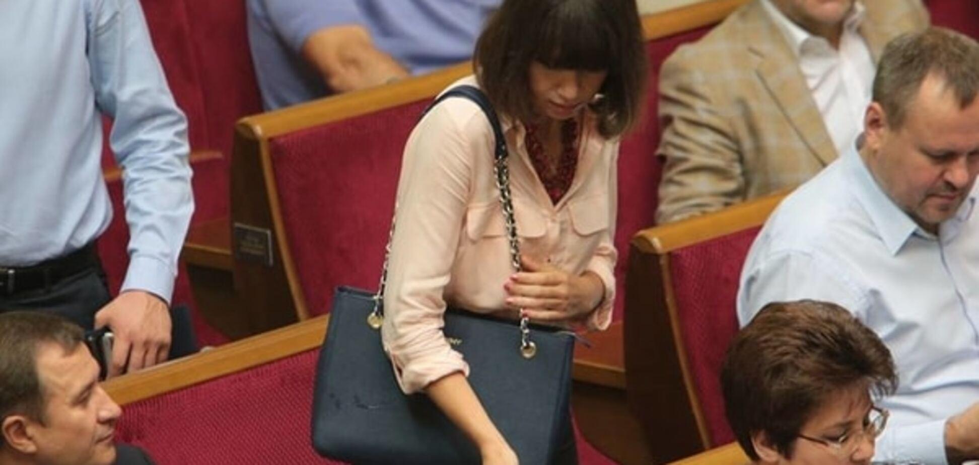 Пашинский подарил: в сети высмеяли дорогую сумку Чорновол