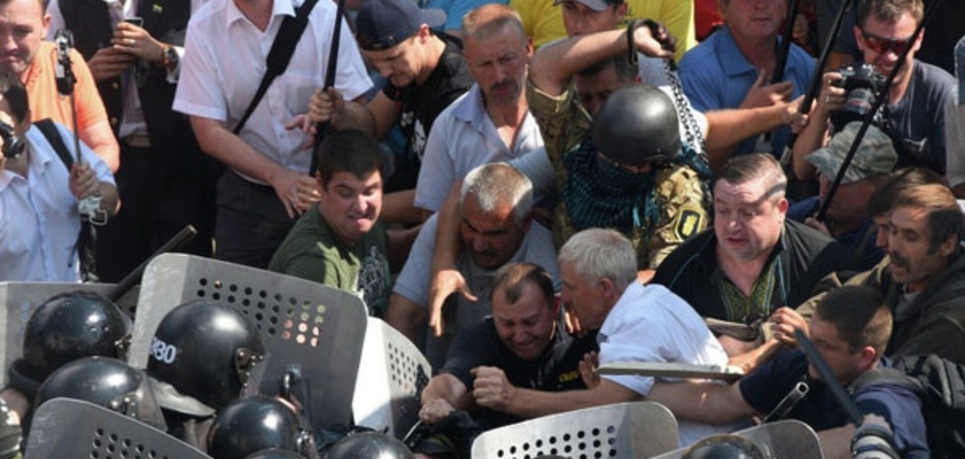Второму члену 'Свободы' объявили о подозрении за беспорядки под Радой