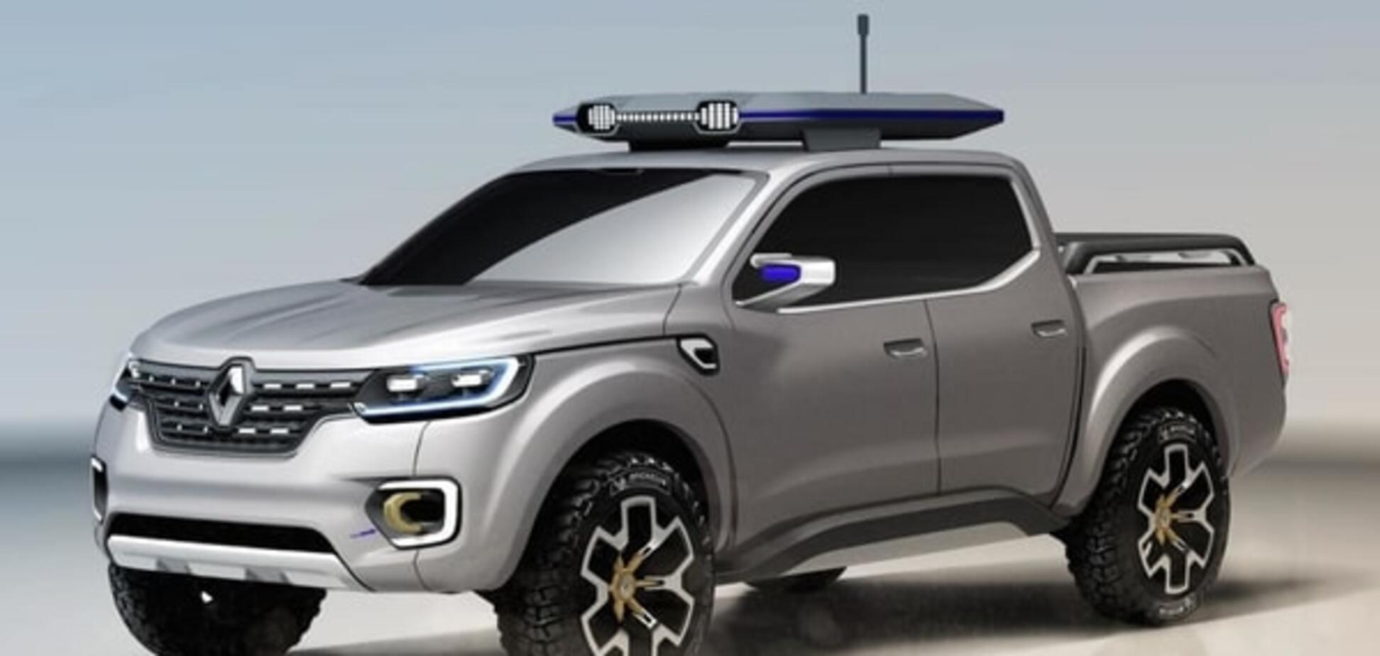 Не только для Аляски: Renault показал фото и видео концепта будущего пикапа