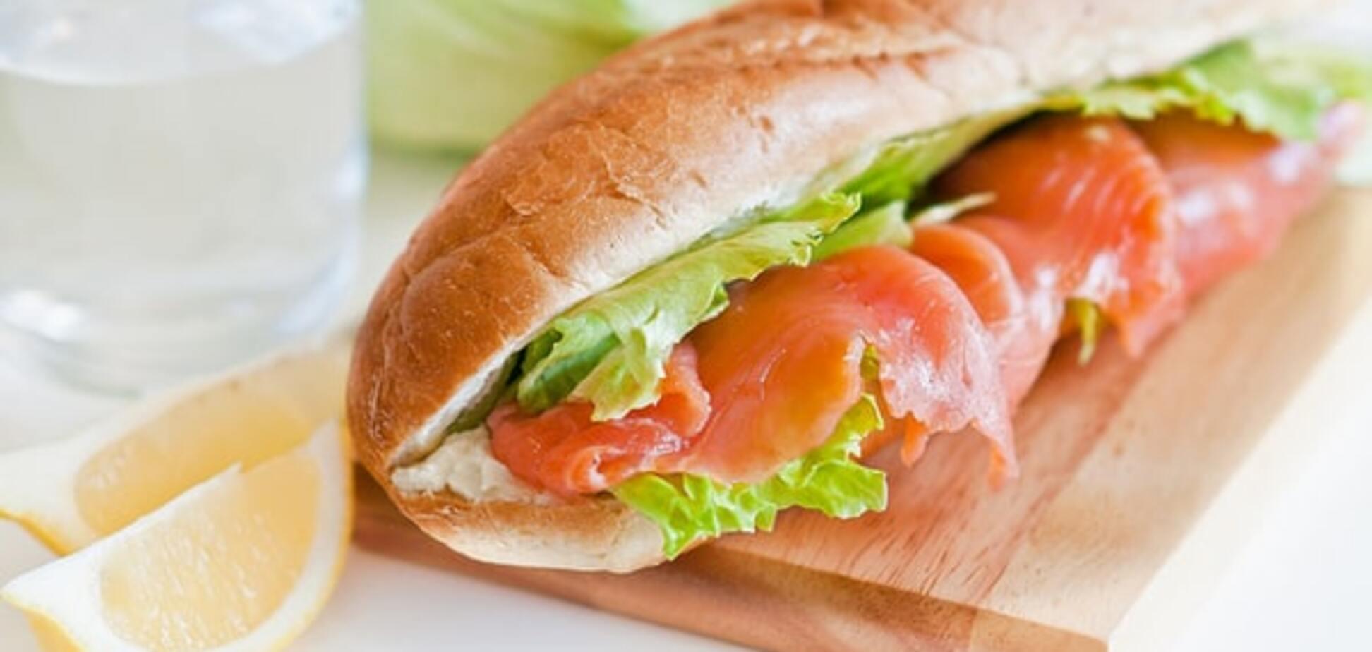 Контрабанда в бутерброде, или За сэндвич с лососем вас теперь оштрафуют?