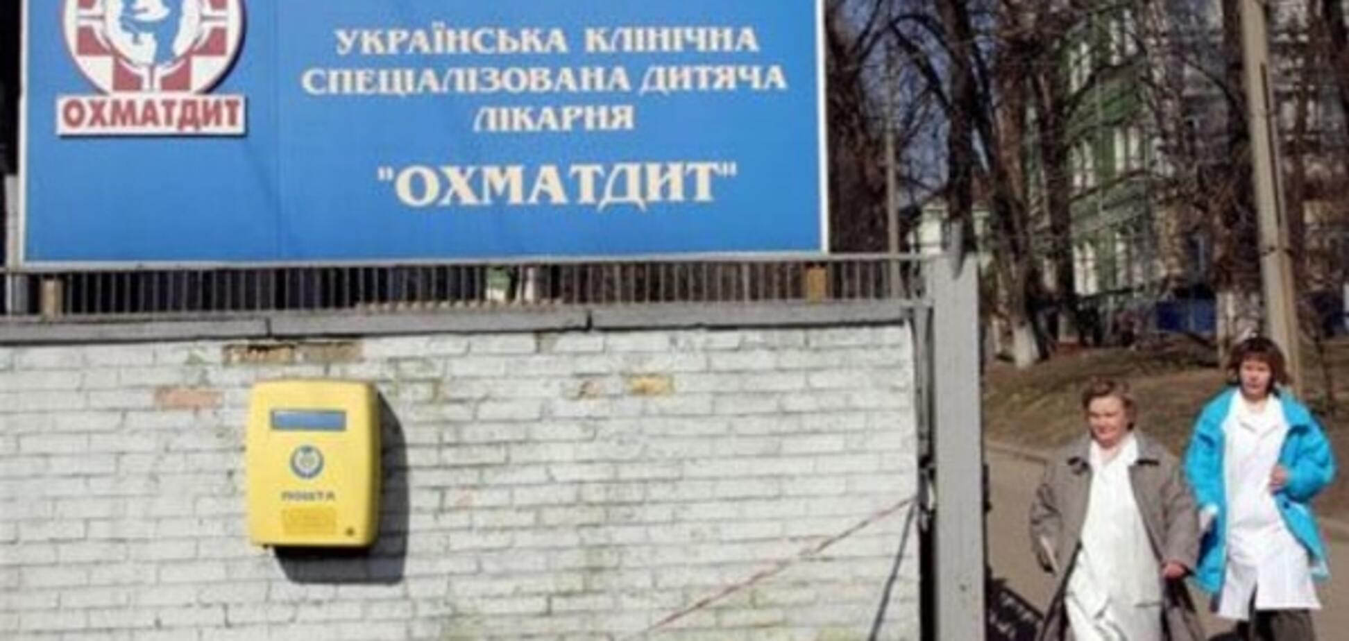 Строительством 'Охматдета' продолжает заниматься человек Януковича