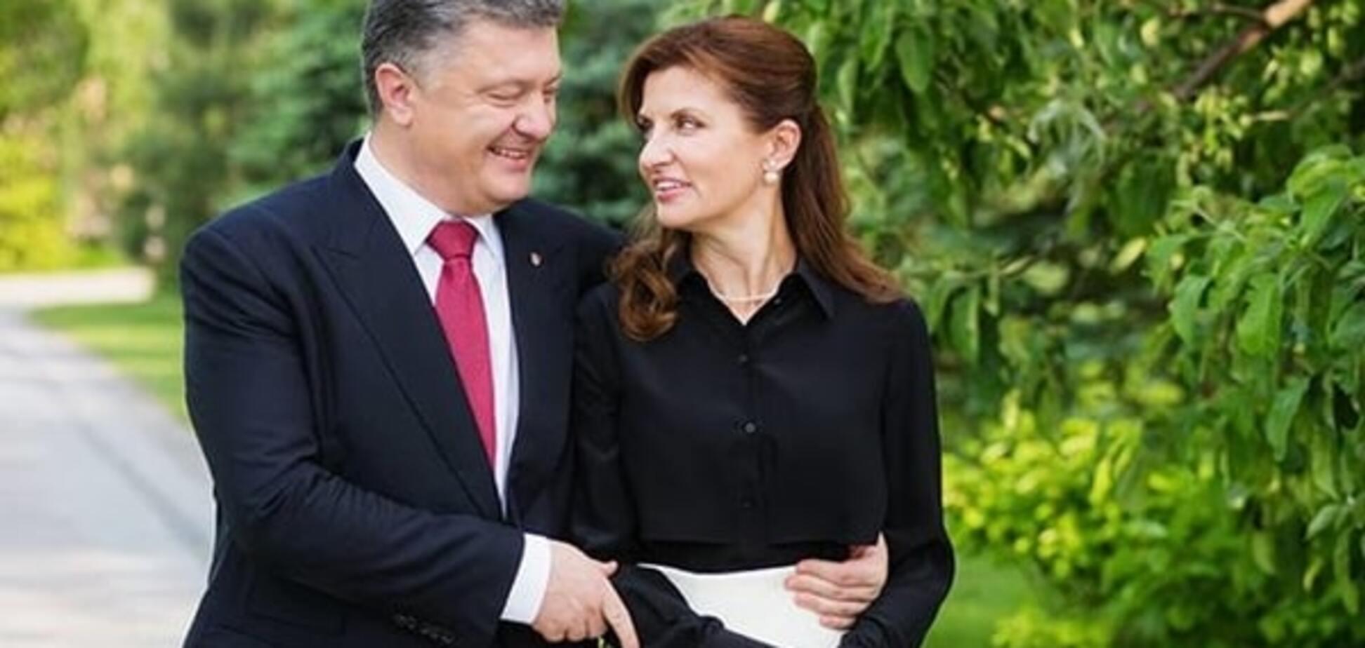 Петро і Марина Порошенко відзначають 31-річчя шлюбу: кращі фото пари за останній рік