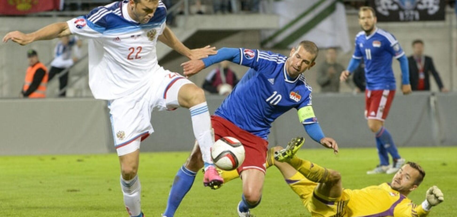 Лихтенштейн – Россия – 0-7: смотреть видео-обзор матча Евро-2016