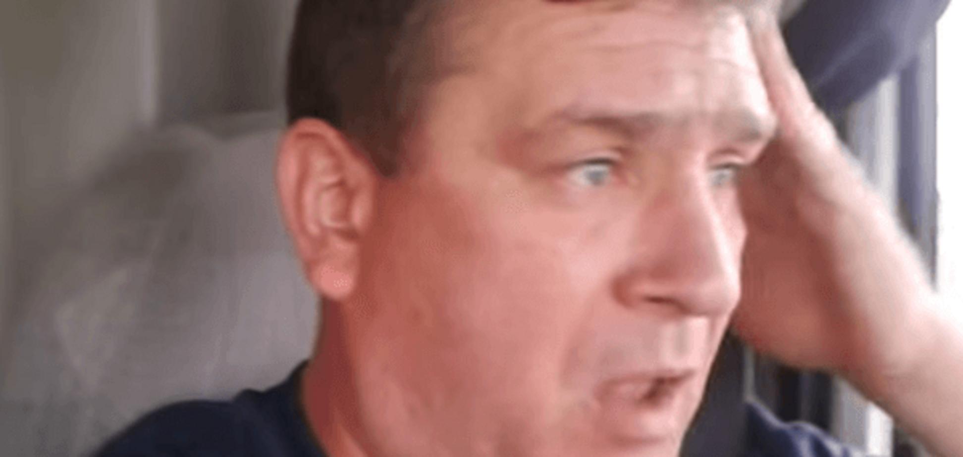 'Метко Бастрыкину кулей в лоб попали': дальнобойщик спел хит про Яценюка. Видеофакт