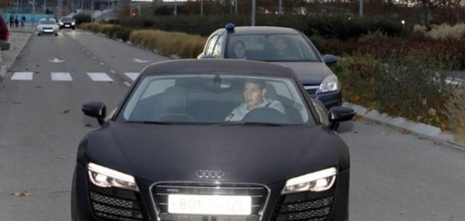 Знаменитый футболист 'Реала' попал в неприятную историю с полицией