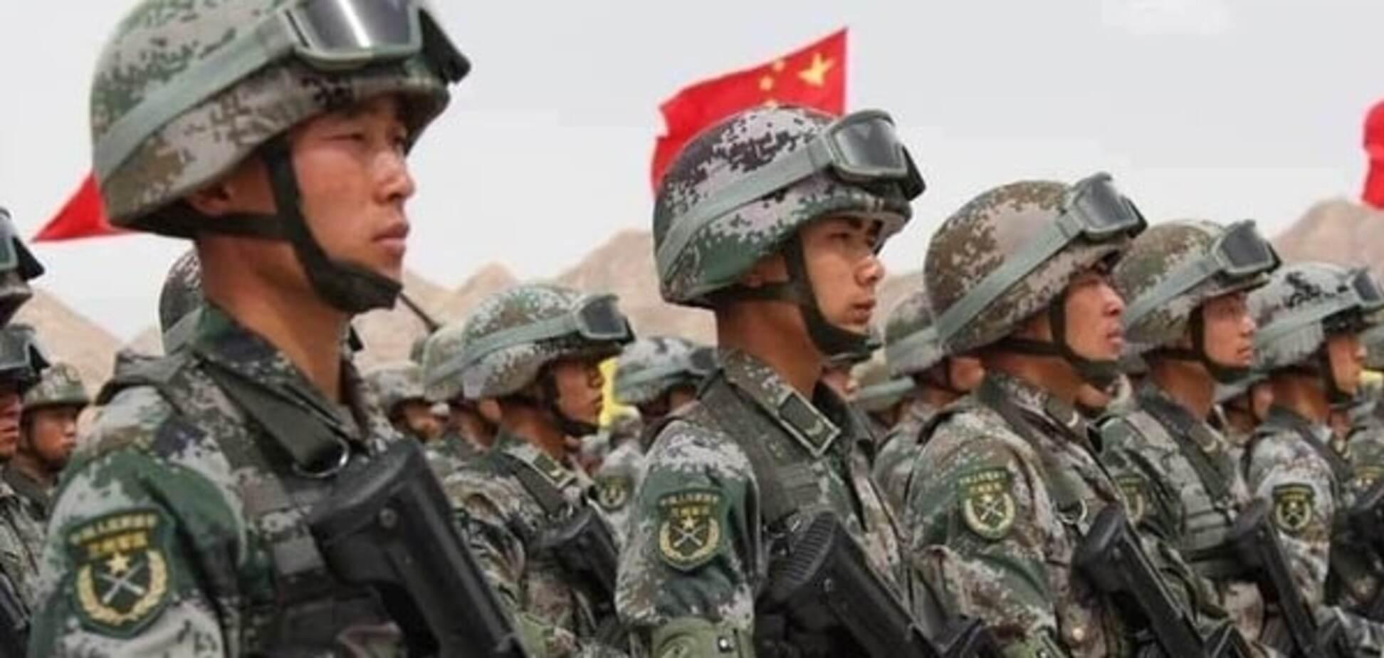 Армия Китая пополнилась новыми родами войск