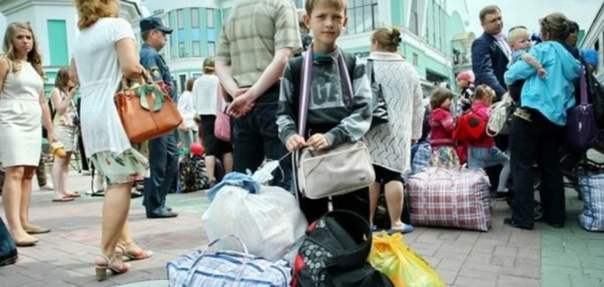 В ГСЧС подсчитали количество вынужденных переселенцев в Украине