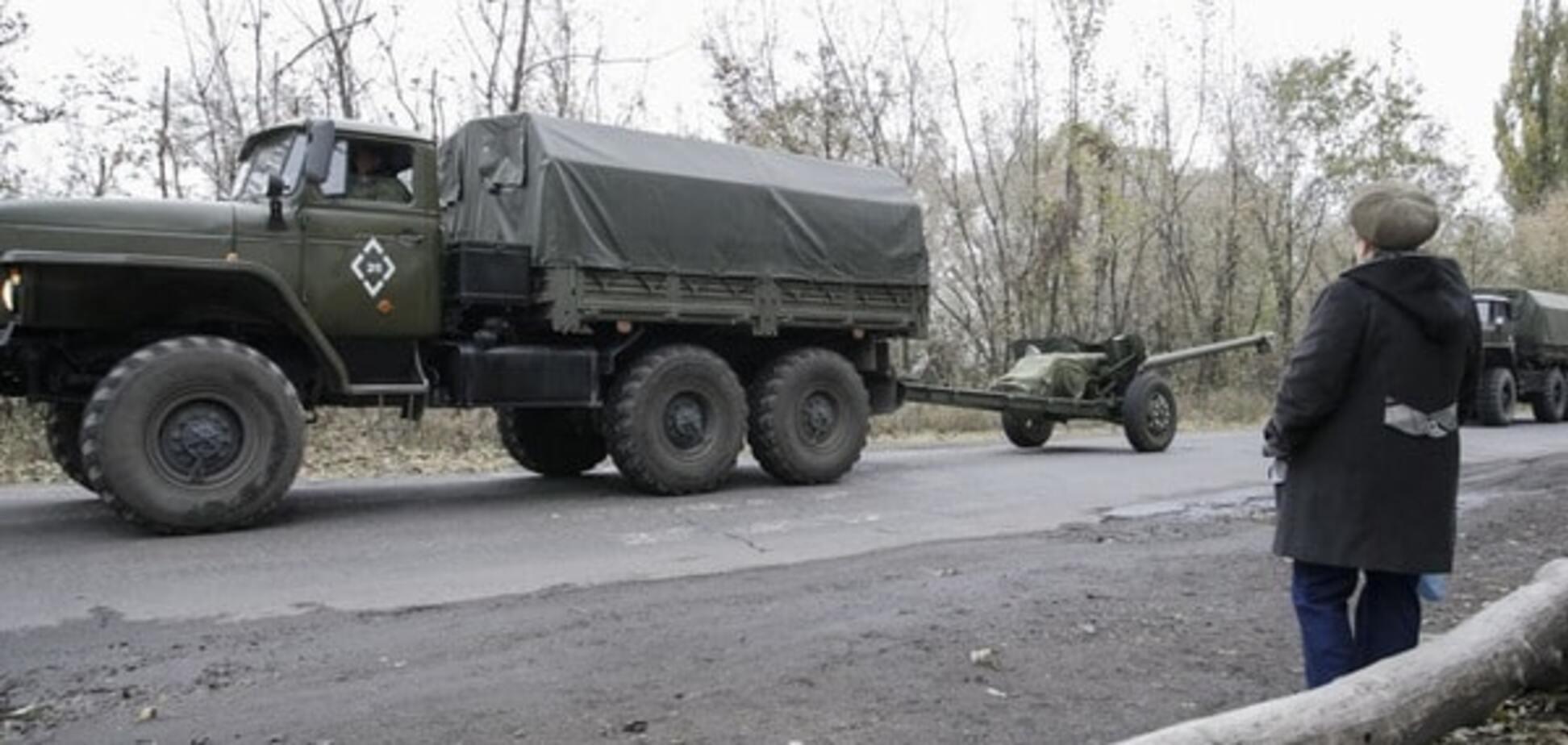 Терористи обстріляли селище Водяне під Маріуполем