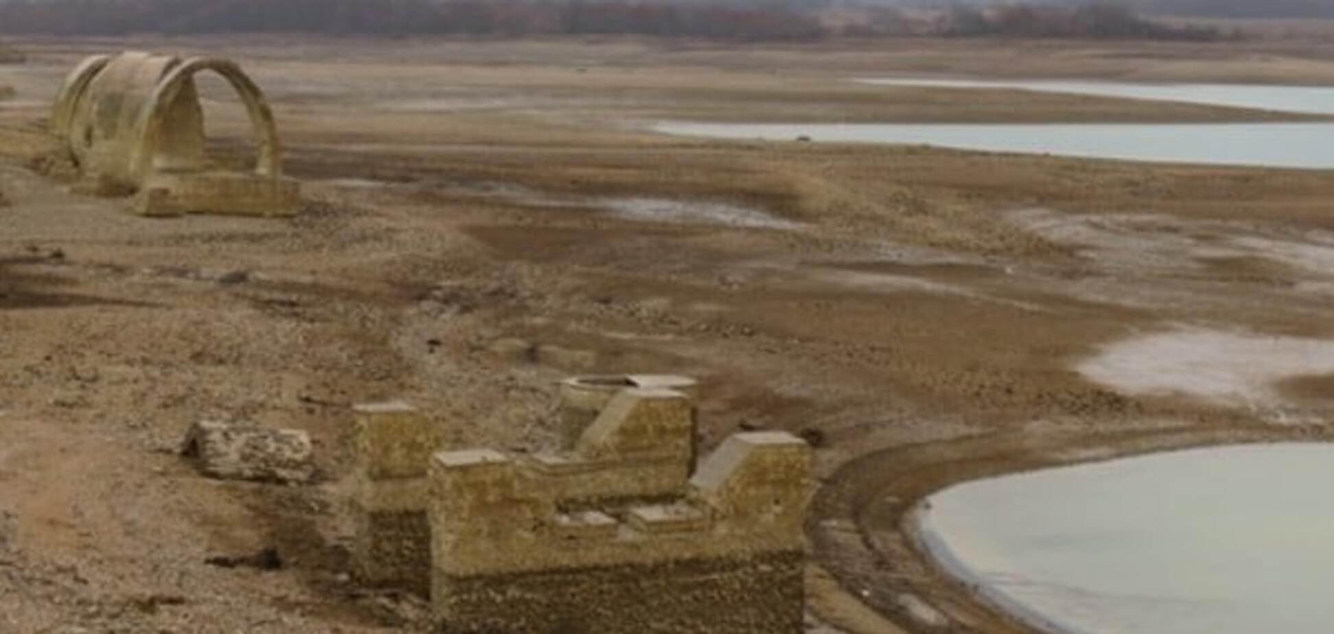Головне водоймище Криму на межі масштабної НС