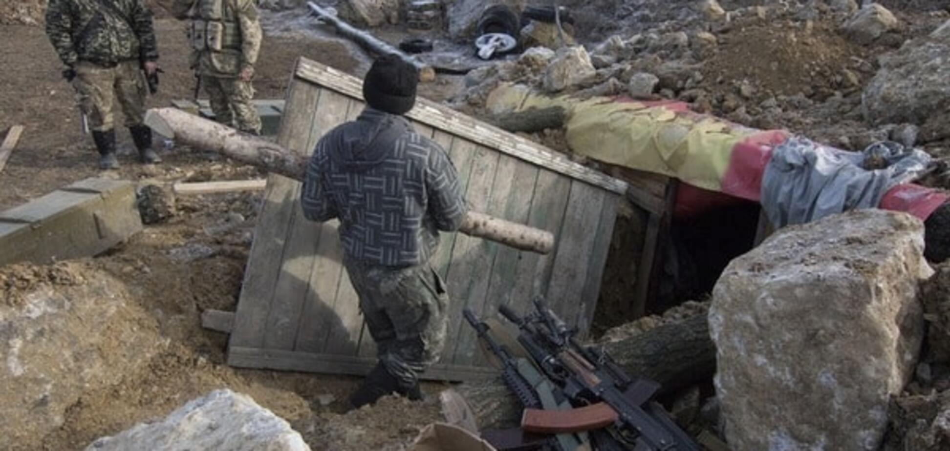 Терористи атакували опорний пункт сил АТО в Новгородському