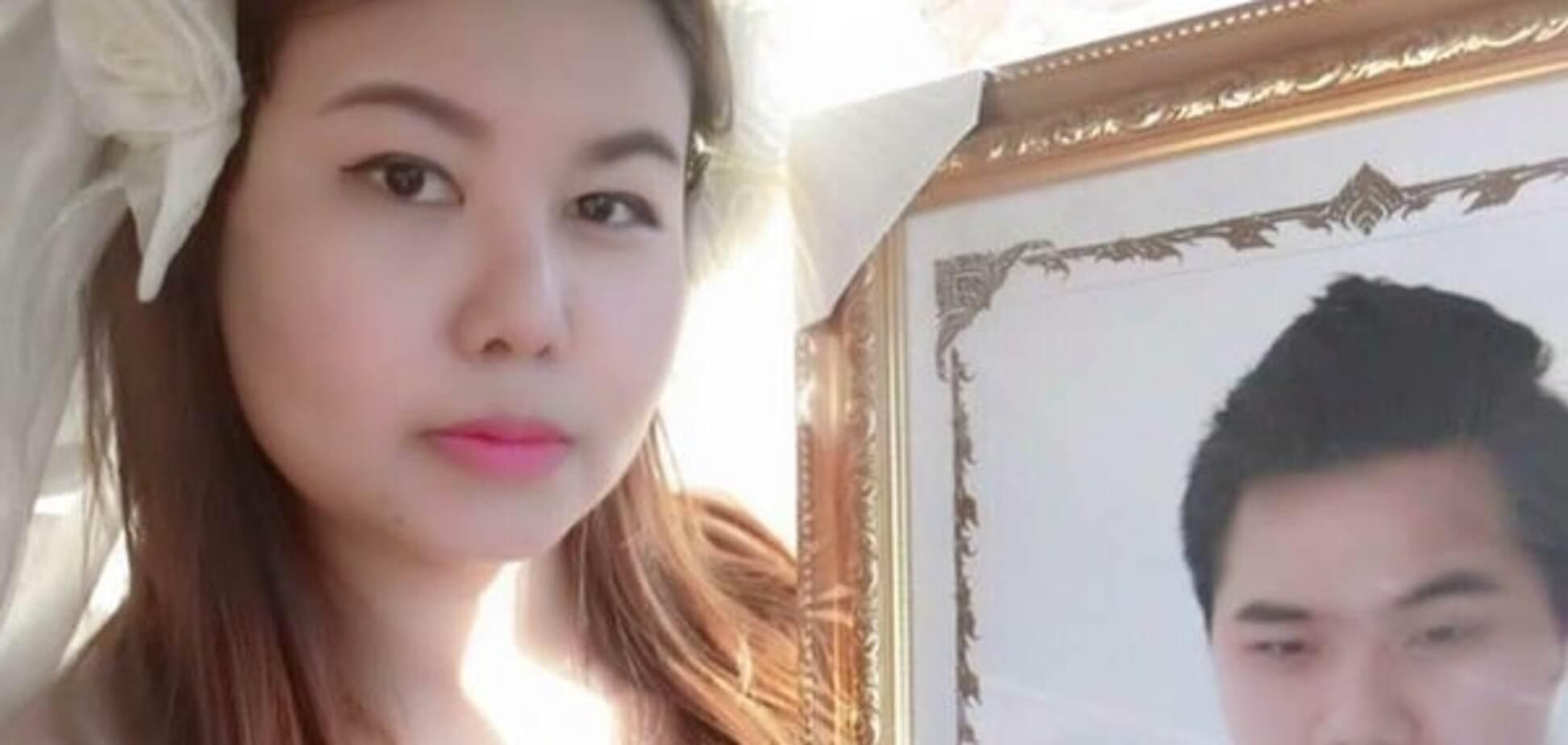 В Таиланде девушка вышла замуж за мертвеца: фотофакт