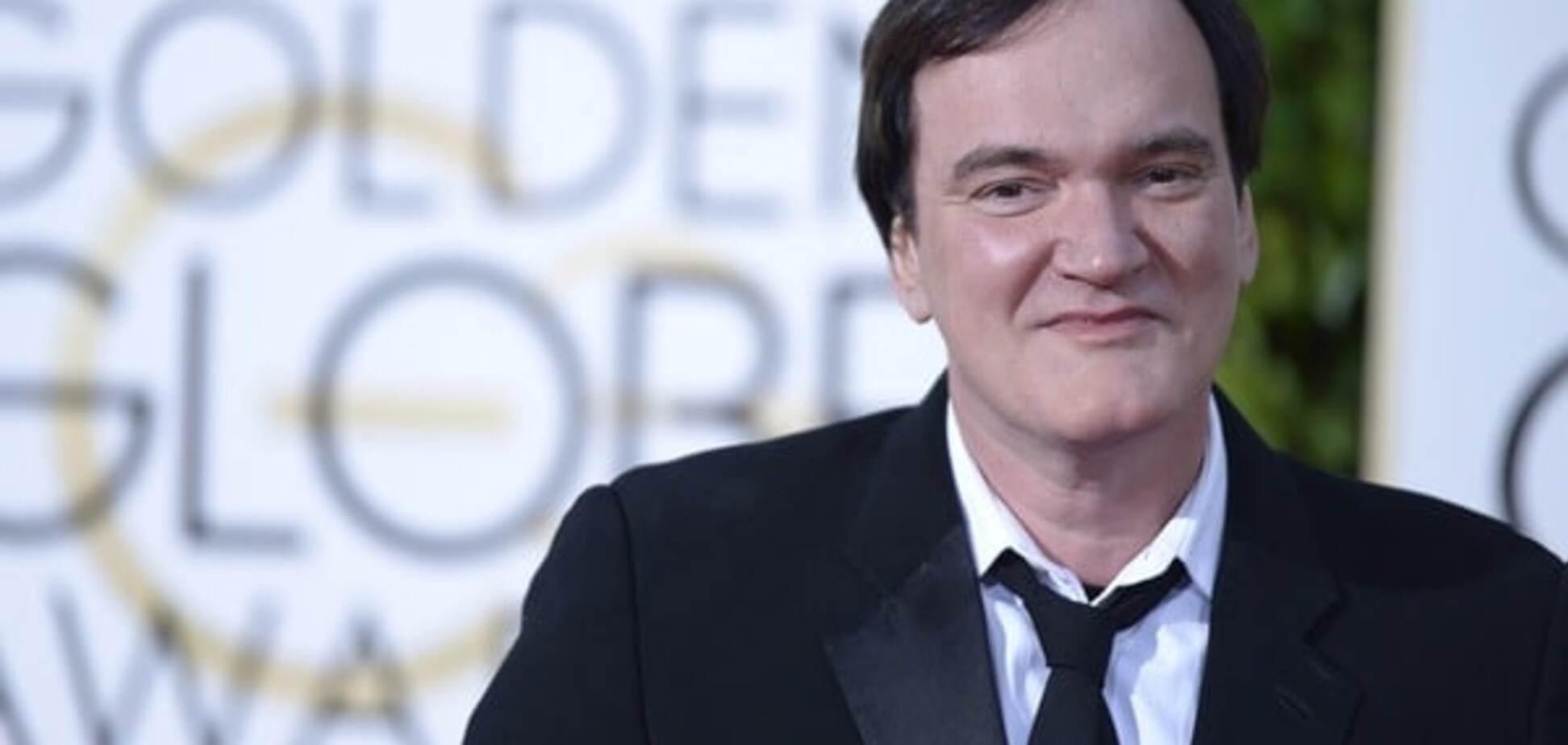 Тарантино под градусом: актер опозорился на 'Золотом глобусе'