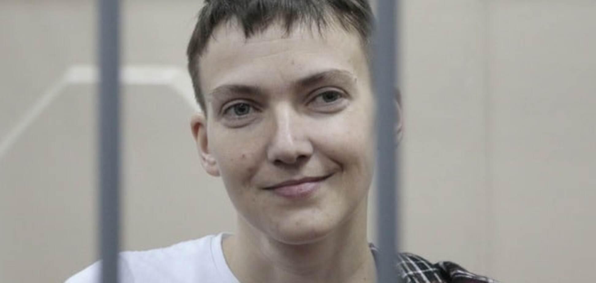 Савченко проживет без еды максимум до февраля - сестра