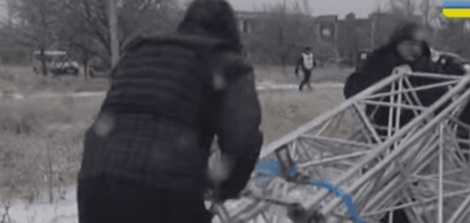 Всевидящее око: ОБСЕ будет следить за террористами в Широкино по веб-камерам. Видеофакт