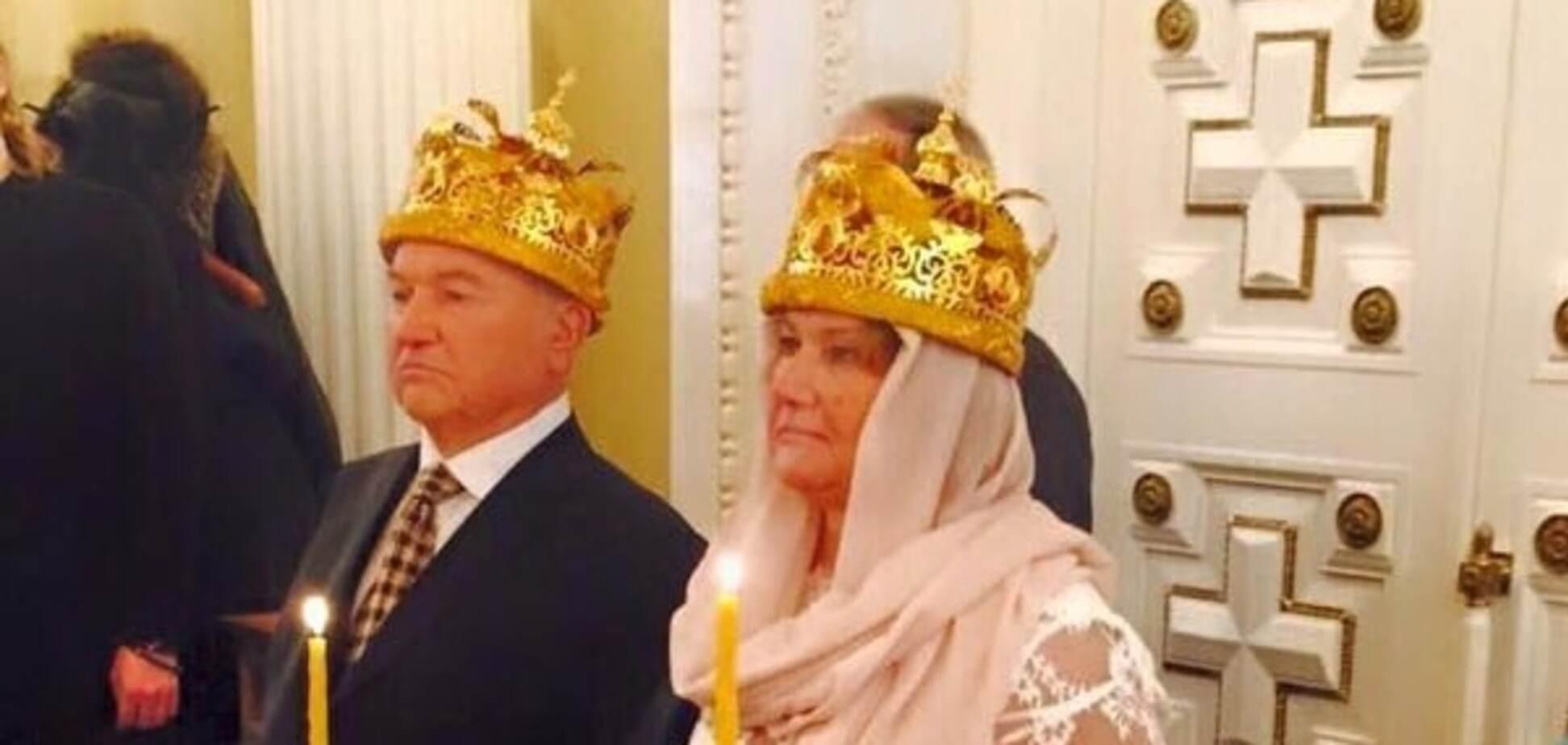 Екс-мер Москви Юрій Лужков обвінчався з дружиною-мільярдеркою: фотофакт