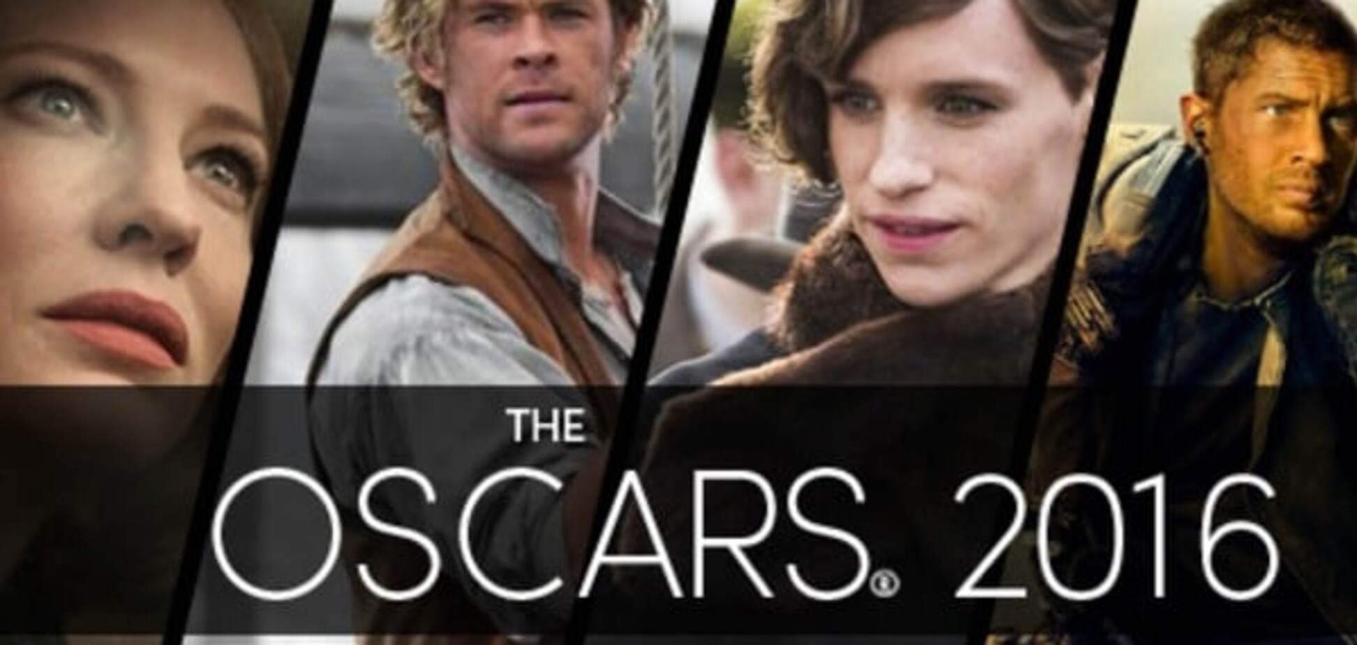 'Оскар-2016': оголошені номінанти на головну кінопремію року