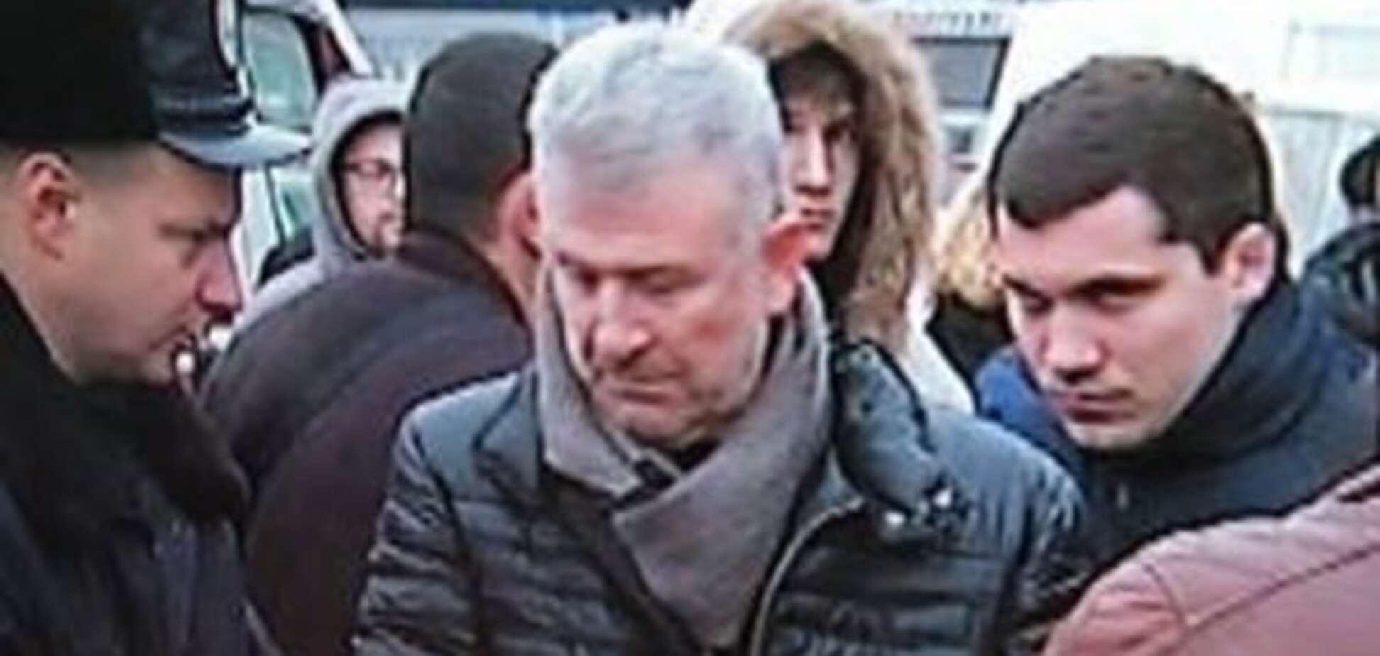 Смертельное ДТП в Киеве: отец мажора приезжал на место трагедии 'решать вопросы'. Фотофакт