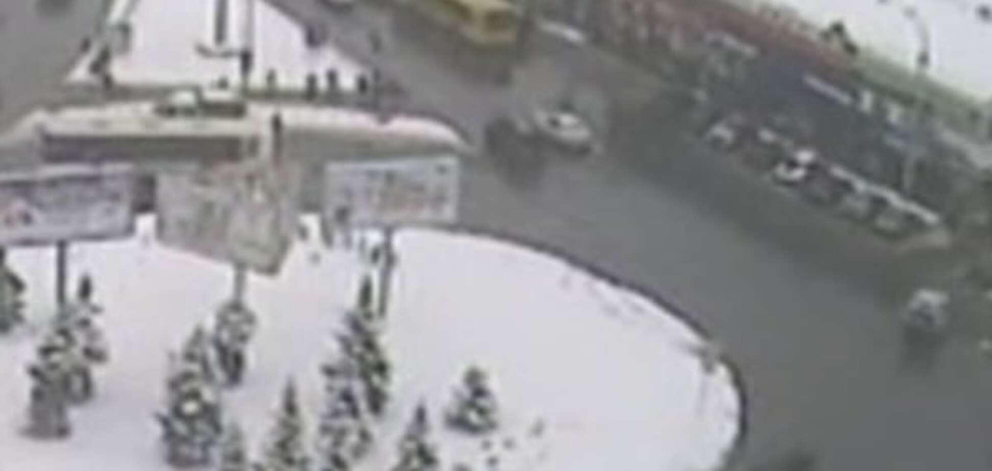 Смертельное ДТП с мажором в Киеве: в сети появилось видео столкновения