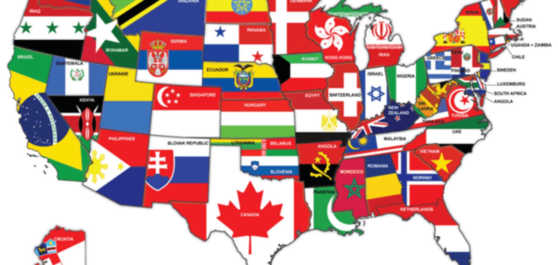 ВВП Украины равен ВВП одного штата США