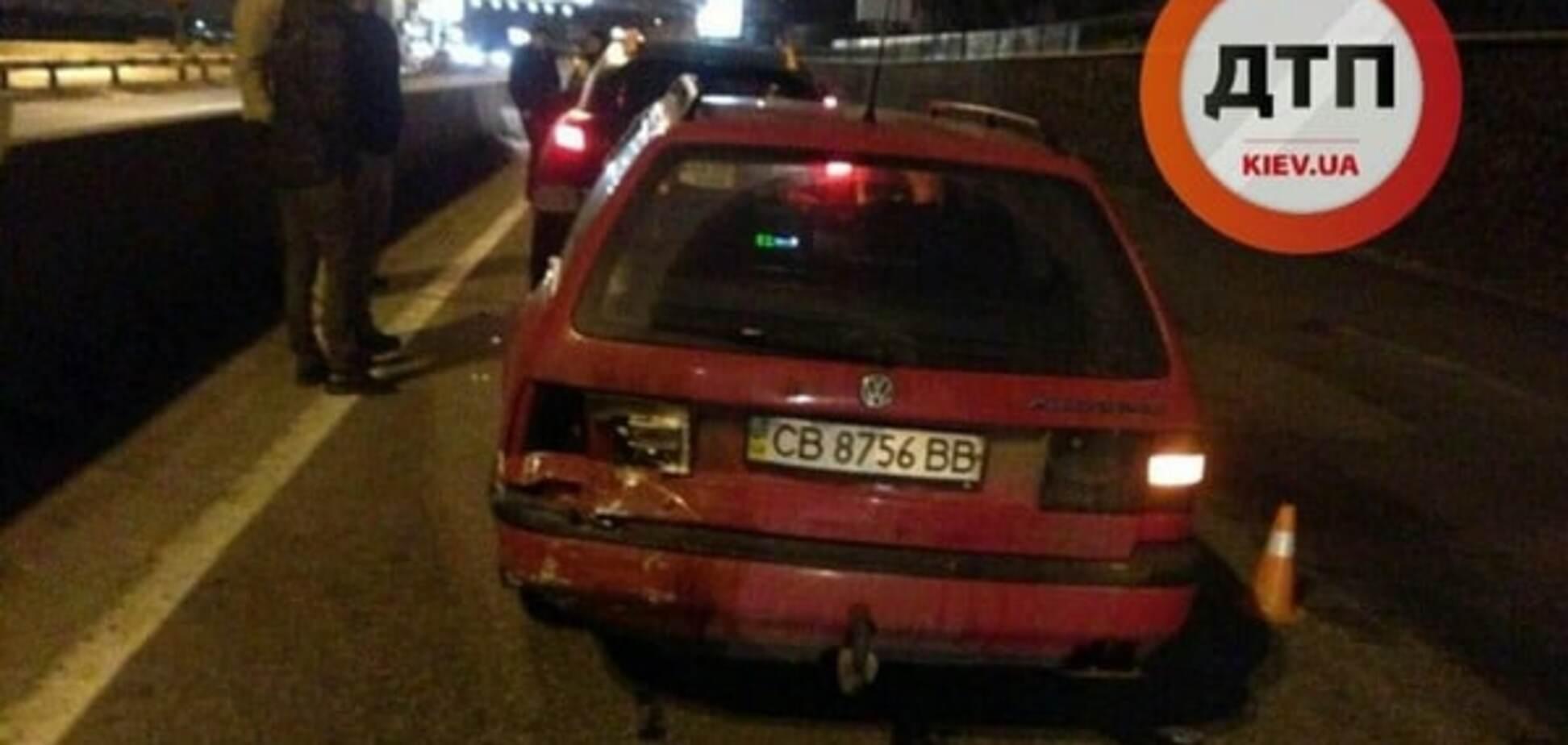 В Киеве два Volkswagen 'атаковали' Infiniti