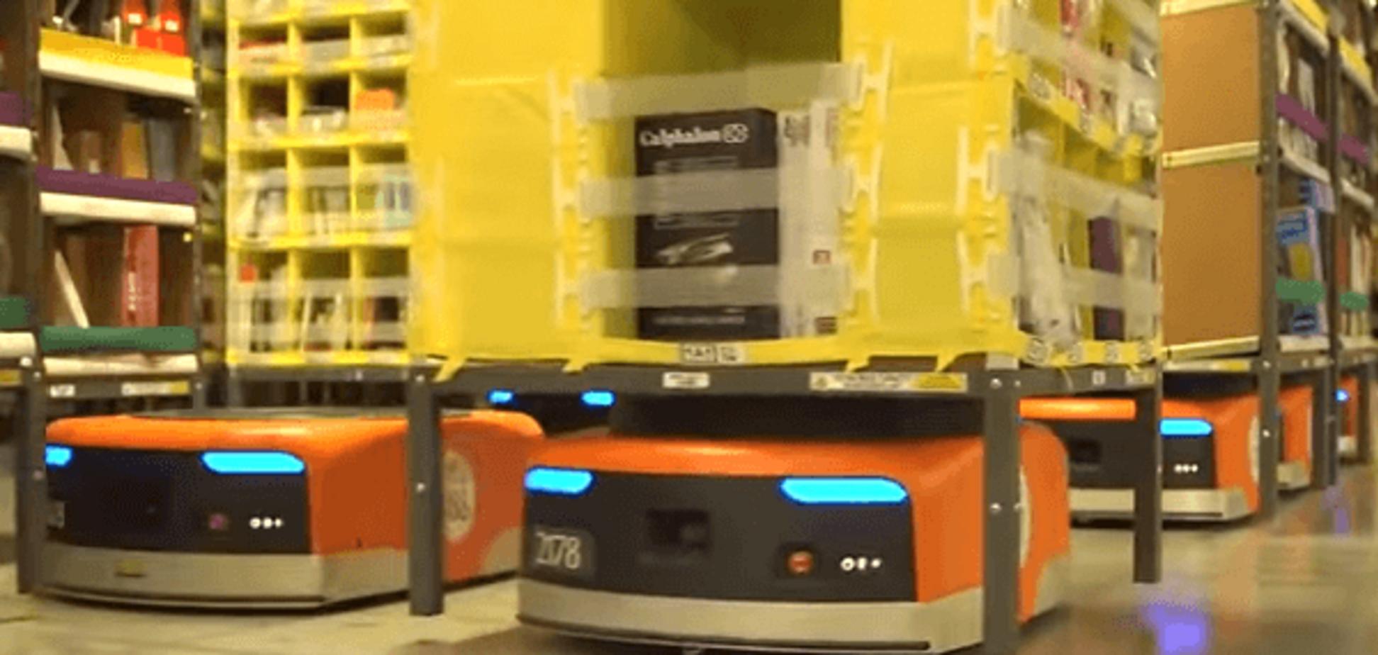 Видео из будущего: в сети показали, как работает Amazon