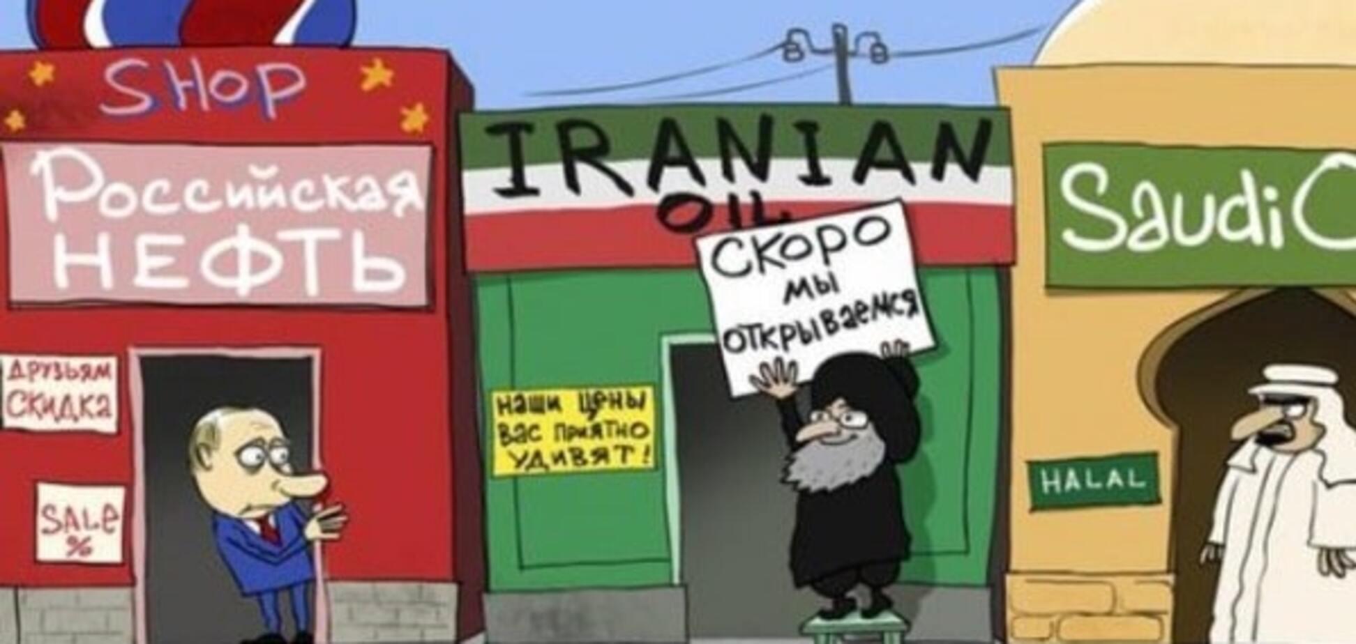 Карикатурист высмеял Путина, торгующего нефтью: фотофакт