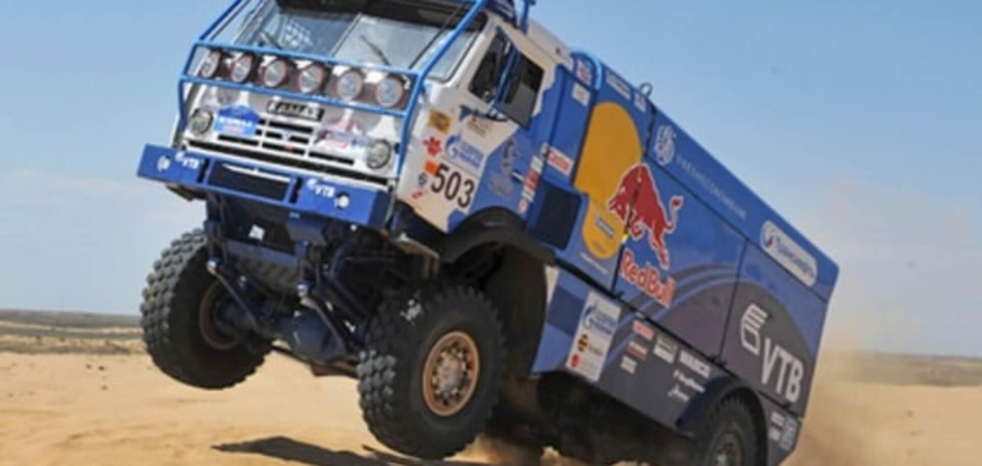 Російський 'КАМАЗ' сенсаційно програв легендарний ралі 'Дакар'