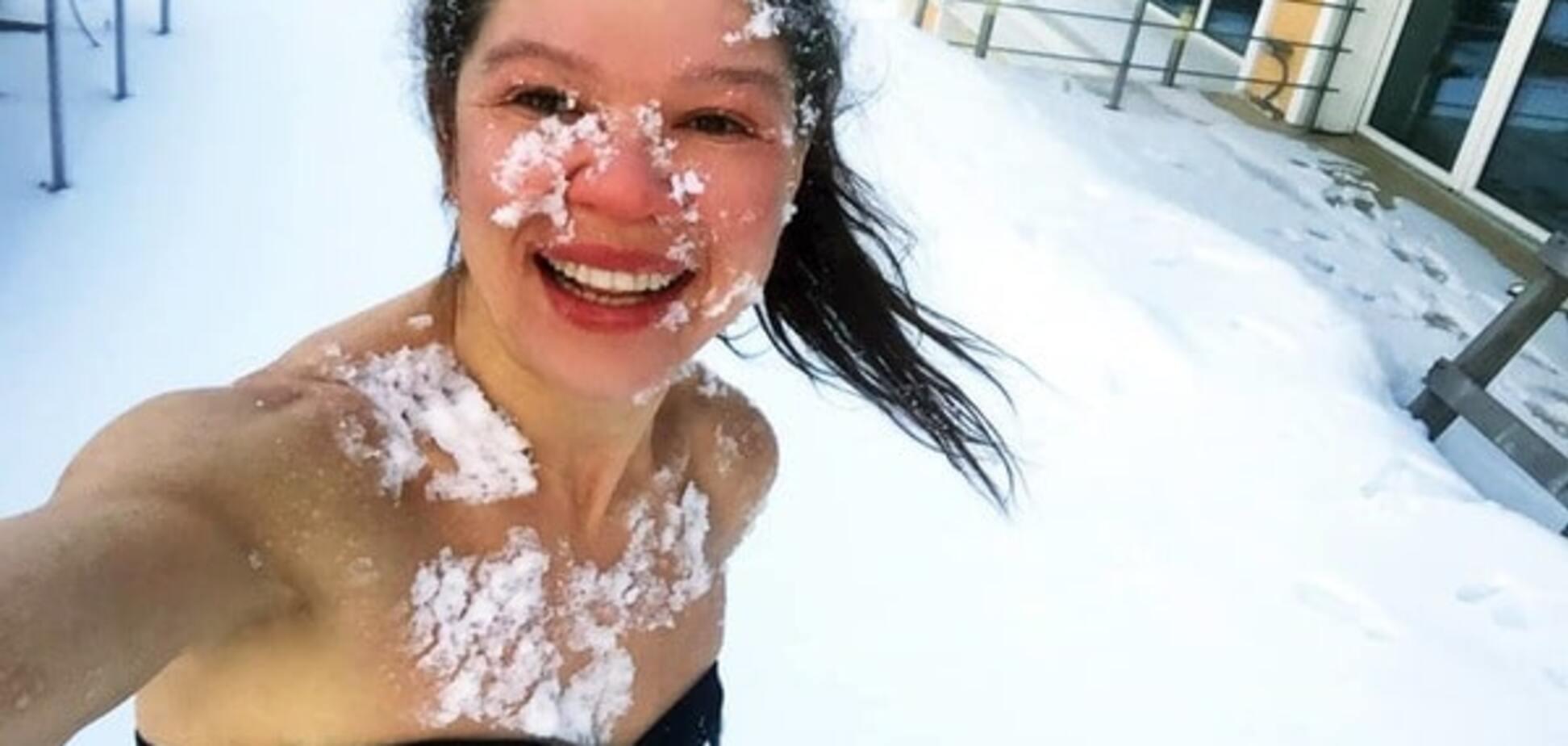 Лучшие кадры: как на Крещение ВИПы купались