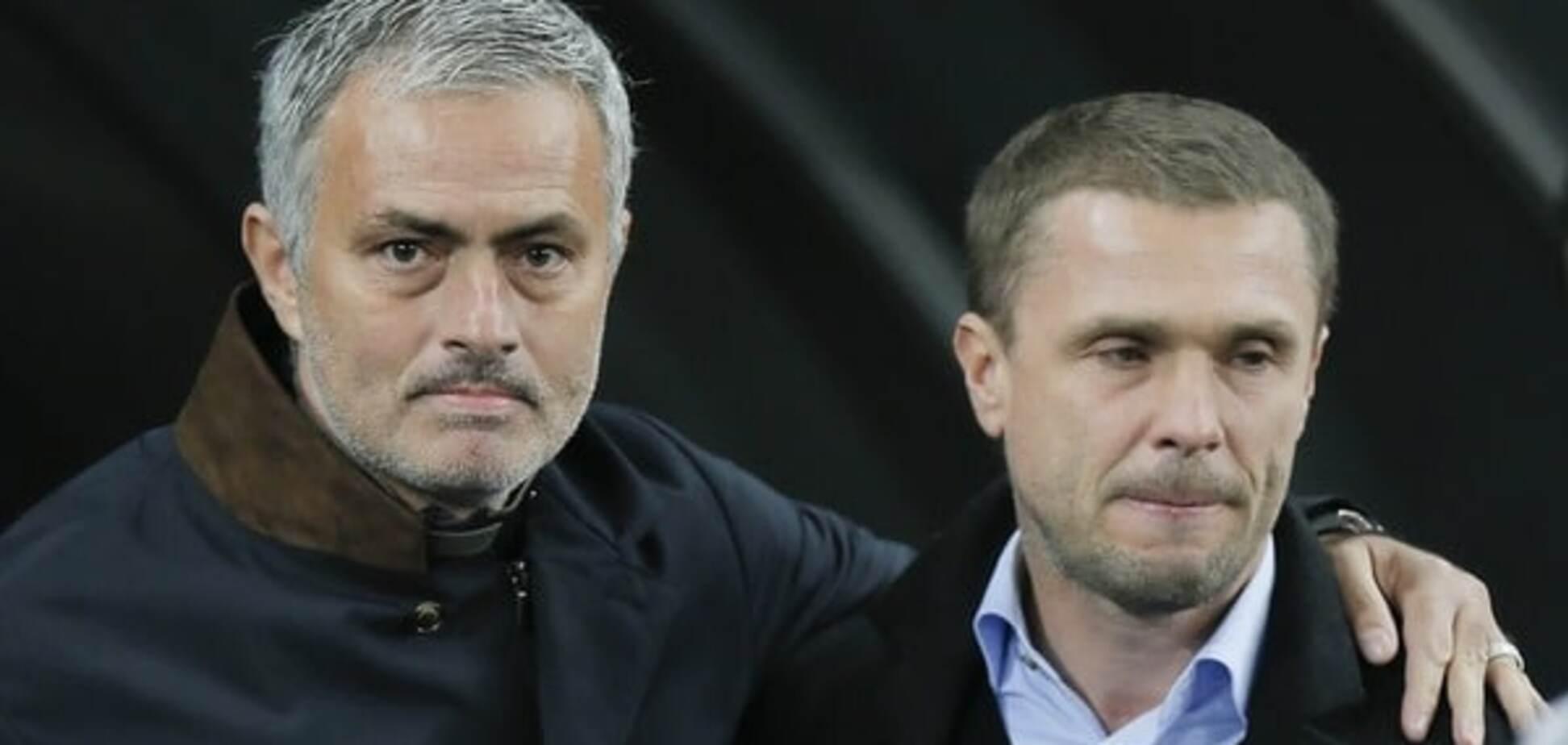 Ребров обошел Моуриньо в рейтинге лучших тренеров мира