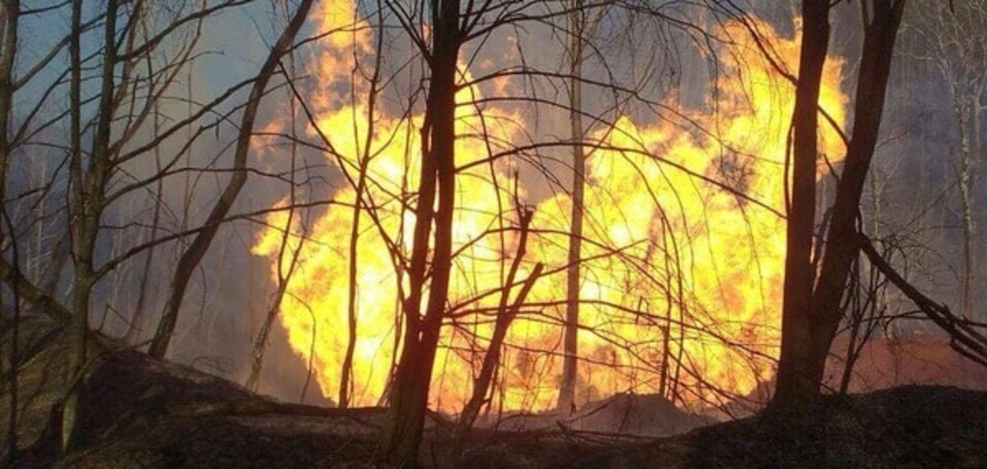 Названо причину вибуху газопроводу на Закарпатті