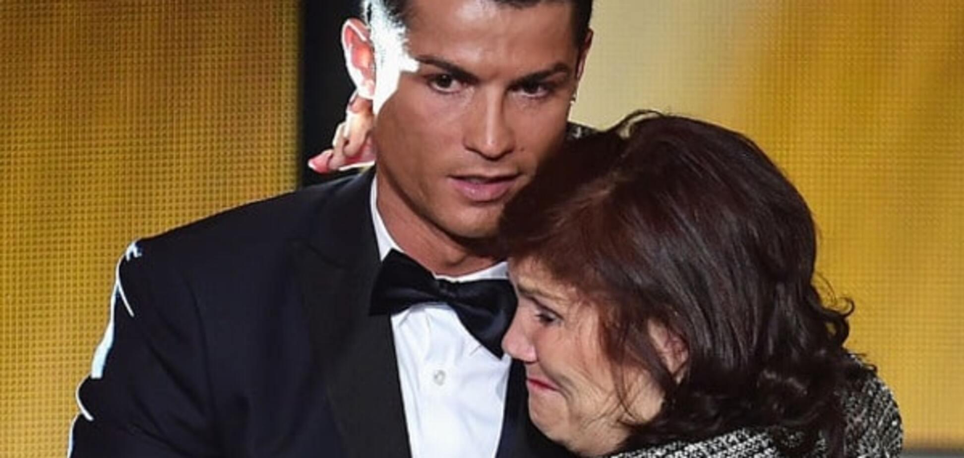 Роналду зробив мамі неймовірний сюрприз на день народження: фото подарунка