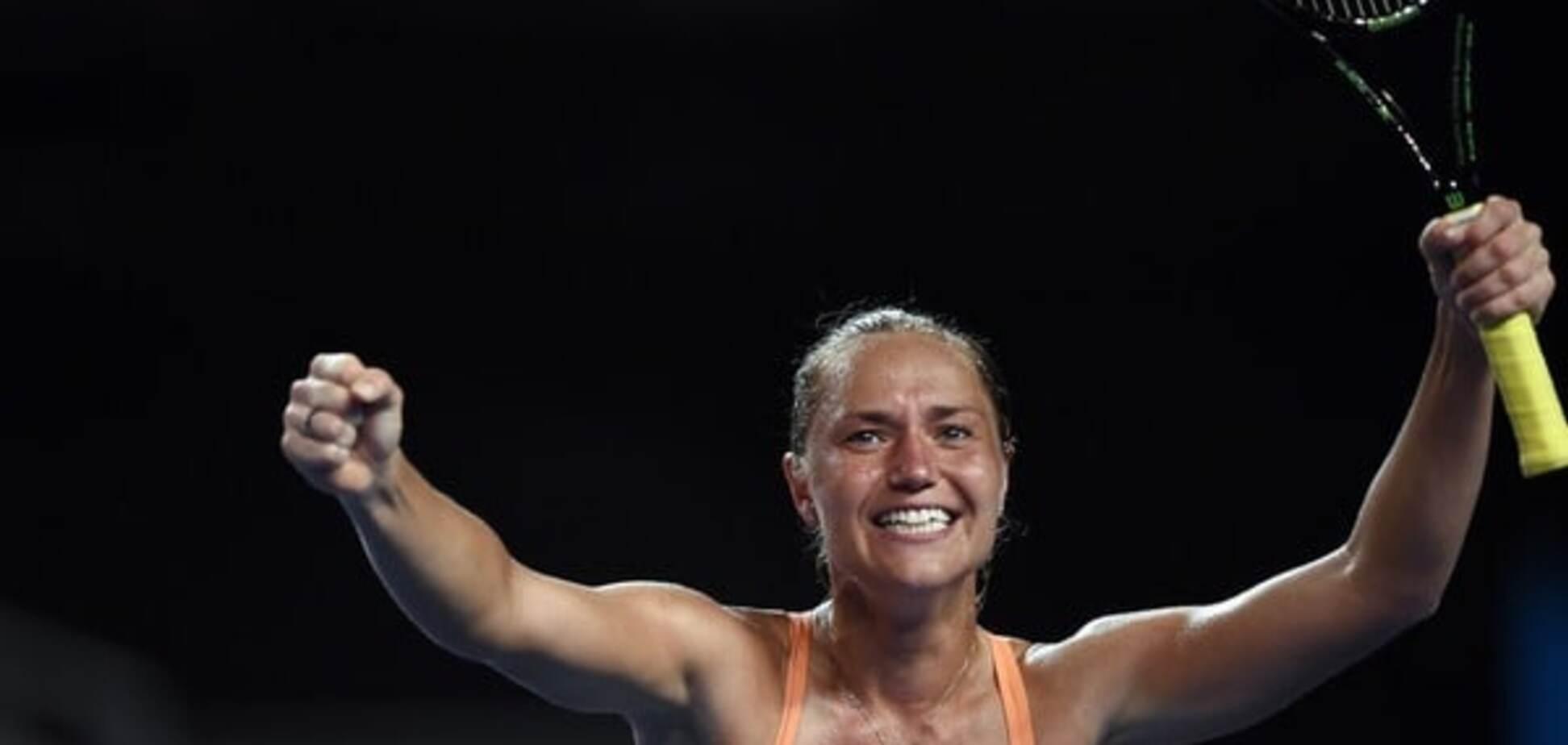 Українська тенісистка сенсаційно обіграла росіянку на Australian Open