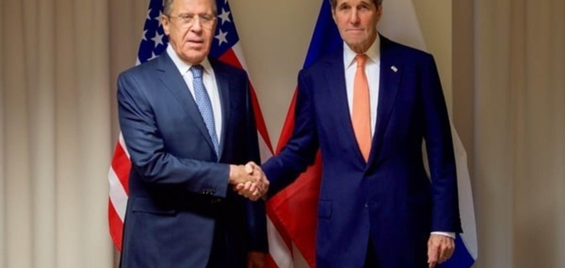 Керри и Лавров решали, как ускорить внедрение Минских договоренностей