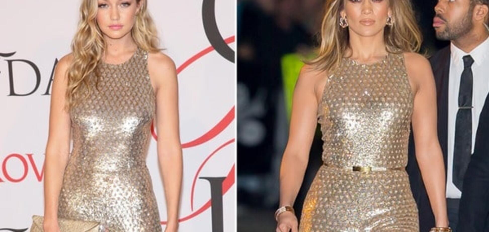 Модная битва: Джиджи Хадид против Дженнифер Лопес